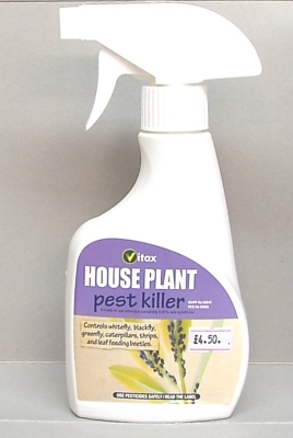 HOUSE PLANT PEST KILLER