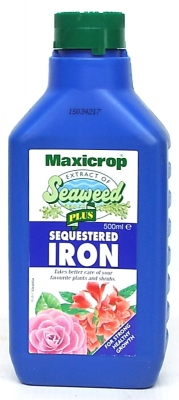 MAXICROP SEAWEED PLUS SEQUESTERED IRON 500ml